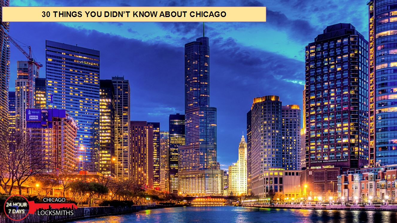 30 things about Chicago