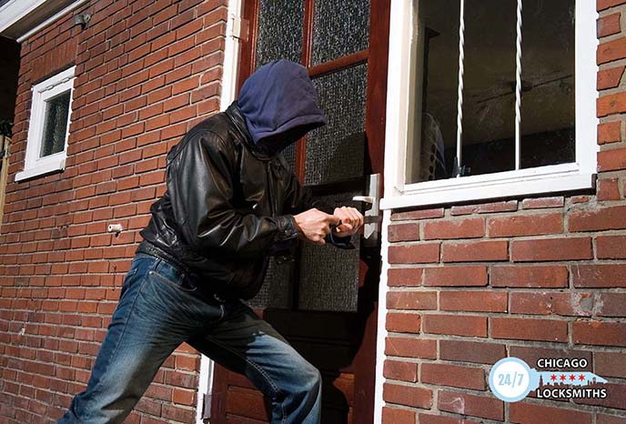 What to do in a burglary